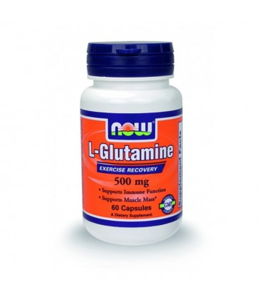 L- Glutamine 500 mg - 60 Caps NOW