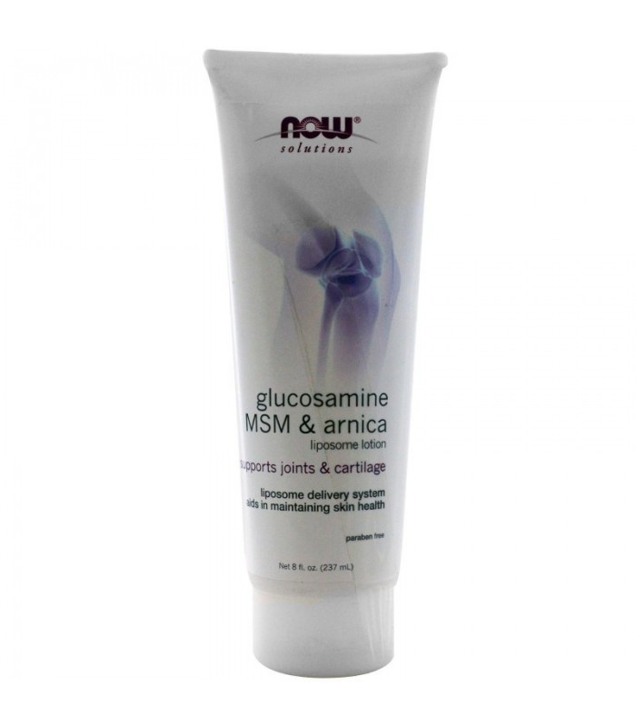 Glucosamine /MSM / Arnica Lotion - 8 oz, 236,6 ml, Now