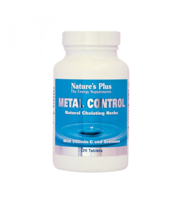 Metal Control 120tabs, Nature's Plus