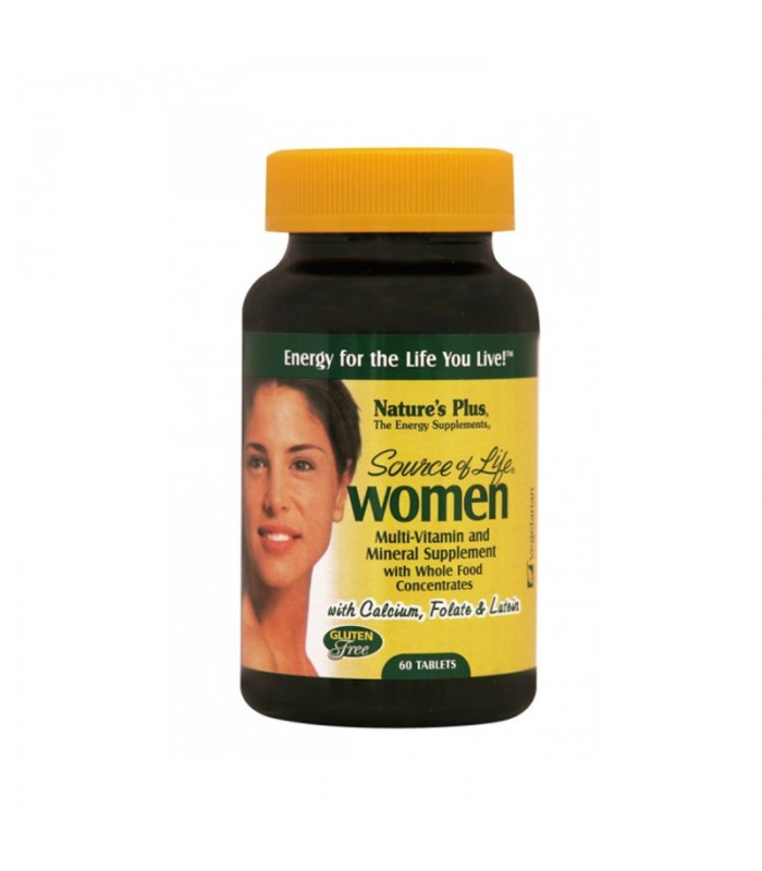 Source of Life Woman 60 ταμπλέτες, Nature's Plus