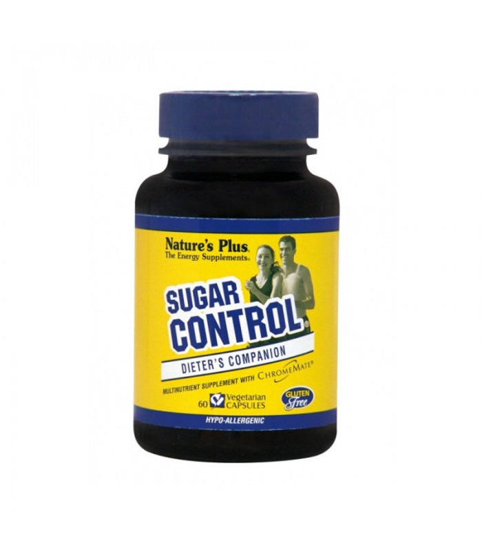Sugar Control 60 κάψουλες Vegan, Nature's Plus