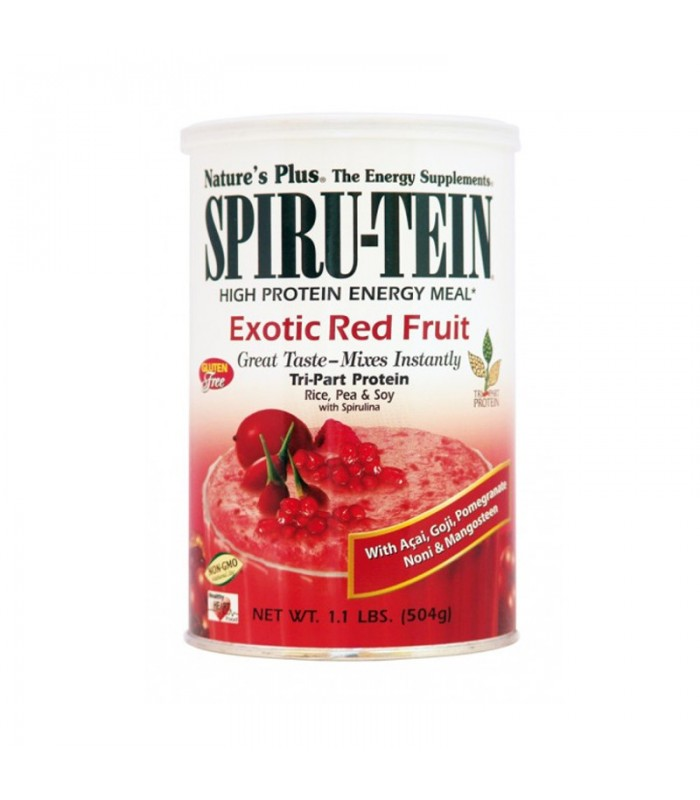 Spiru-Tein Exotic Red Fruit 504γρ., Nature's Plus