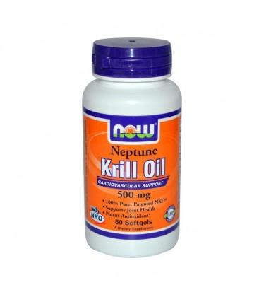 Neptune Krill Oil 500 mg, (NKO® Form) - 60 Softgels