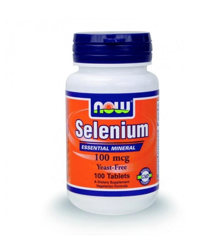 Selenium (Σελήνιο) 100 mcg (Χωρίς Μαγιά Σεληνομεθειονίνης) - Vegetarian 100 Tabs