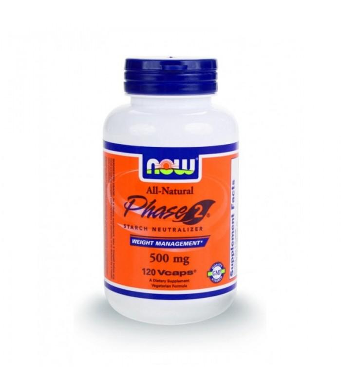 Phase 2® 500 mg, (Δεσμεύει το Άμυλο)- 60 Vcaps®