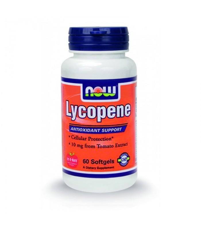 Lycopene 10 mg (LYC-O-MATO® Εκχύλισμα Ντομάτας) - 60 Softgels
