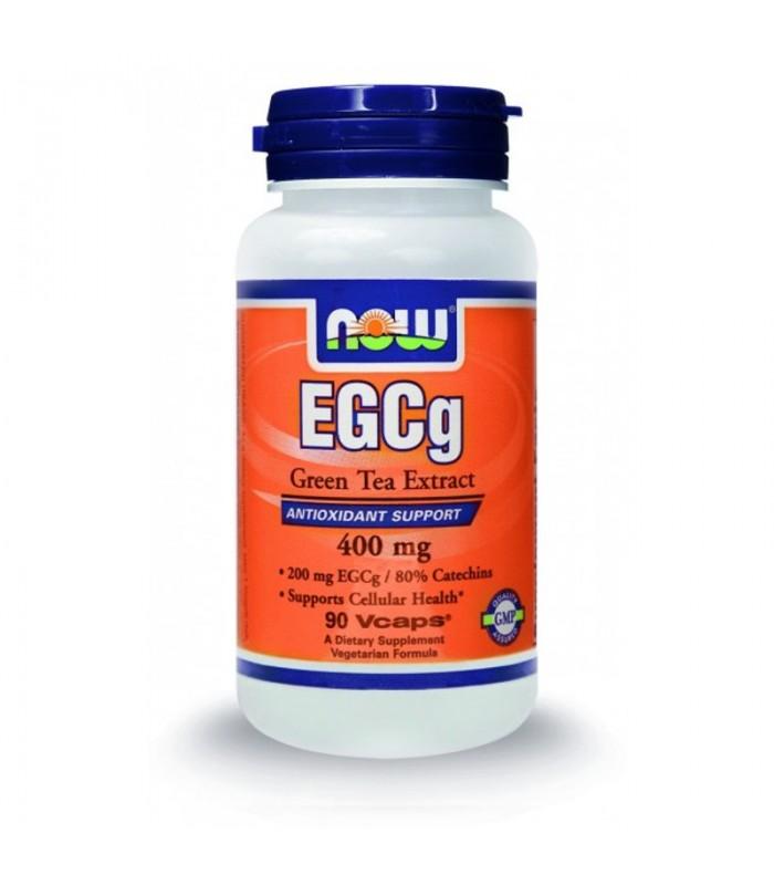 EGCg 400mg (50% ECGg, 98% Polyphenols) - 90 Vcaps, Now