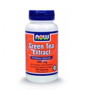 Green Tea Extract 400 mg - 100 Caps NOW