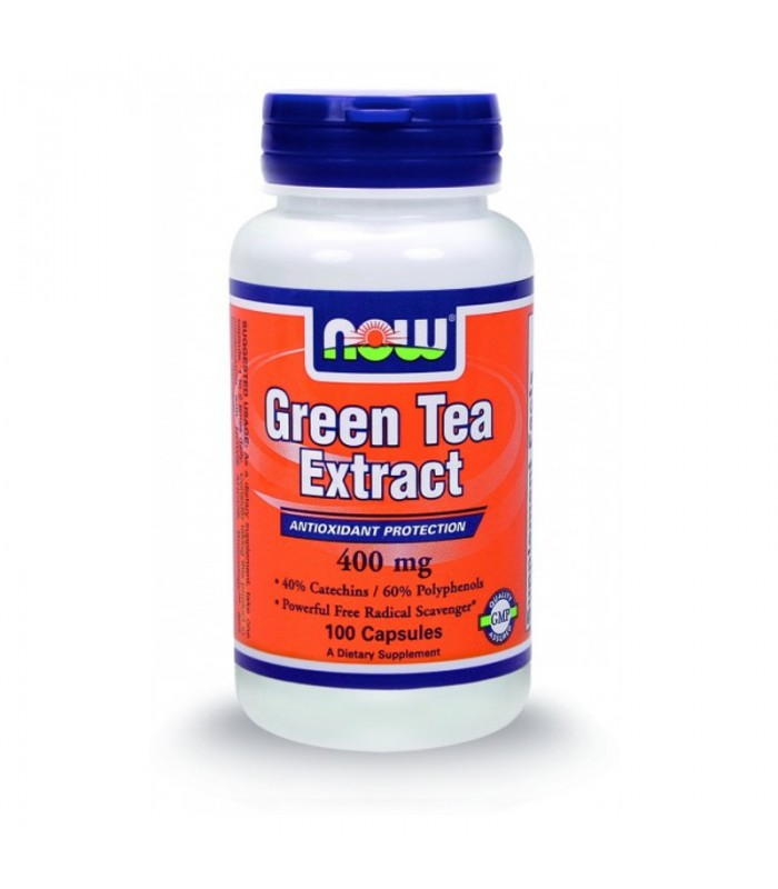Green Tea Extract 400mg - 100 Caps, Now