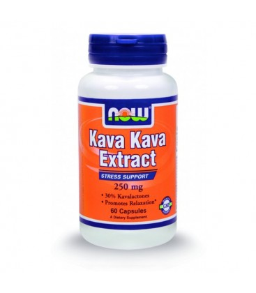 Kava Kava 250 mg + 100 mg Eleuthero - 60 Caps