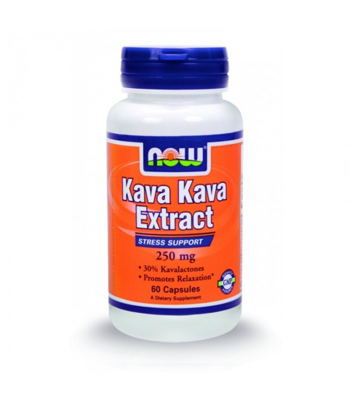 Kava Kava 250mg + 100mg Eleuthero - 60 Caps, Now