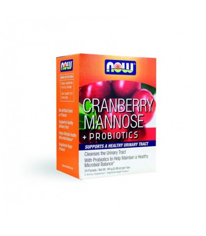 Cranberry + Mannose + Probiotics, Now