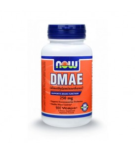 DMAE (αμινοαλκοόλη) 250 mg - 100 Vcaps, Now
