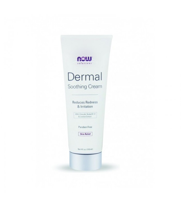 Dermal Soothing Cream B-12 - 4 fl oz 118,3ml, Now