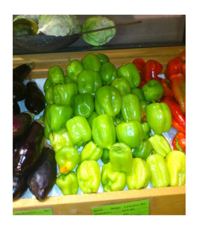 Βιολογική Πιπεριά για Γέμισμα (Ντολμάς) Κρήτης Bio, Ελληνική, Λαχανικά Greenhouse