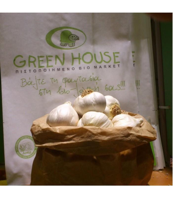 Βιολογικά Σκόρδα Bio, Ελληνικά, Λαχανικά Greenhouse