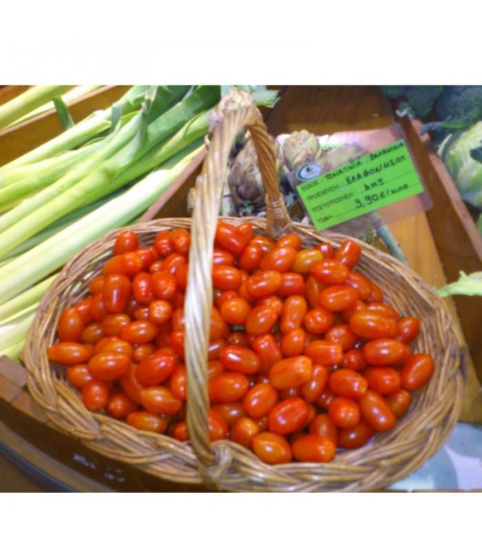 Βιολογικά Τοματίνια Τσέρρυ Ελαφονησίου Bio, Ελληνικά, Λαχανικά Greenhouse