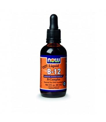 Σύμπλεγμα Βιταμίνης Β12 σε Υγρό - Vegetarian 2 oz.(59,2 ml)