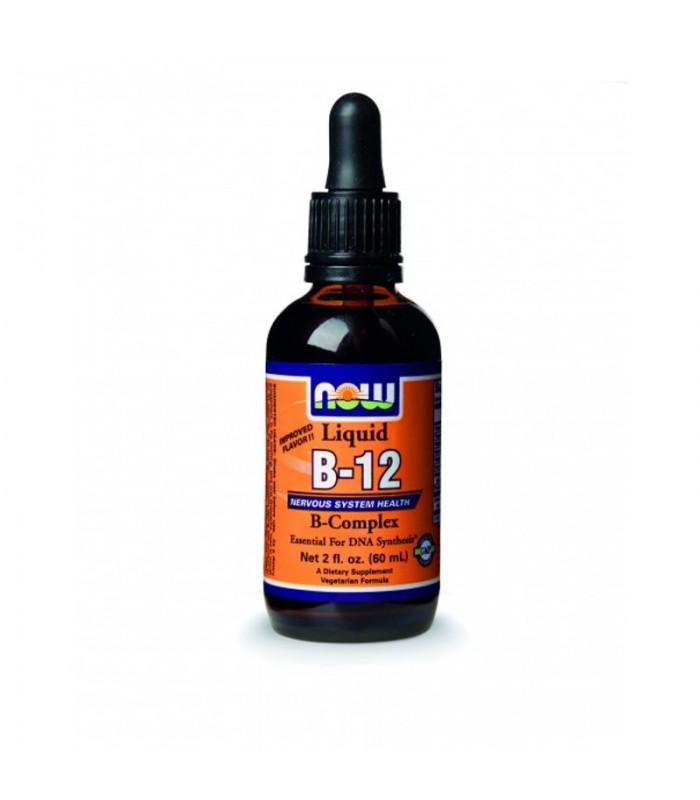 Σύμπλεγμα Βιταμίνης Β12 σε Υγρό - Vegetarian 2 oz. (59,2 ml), Now