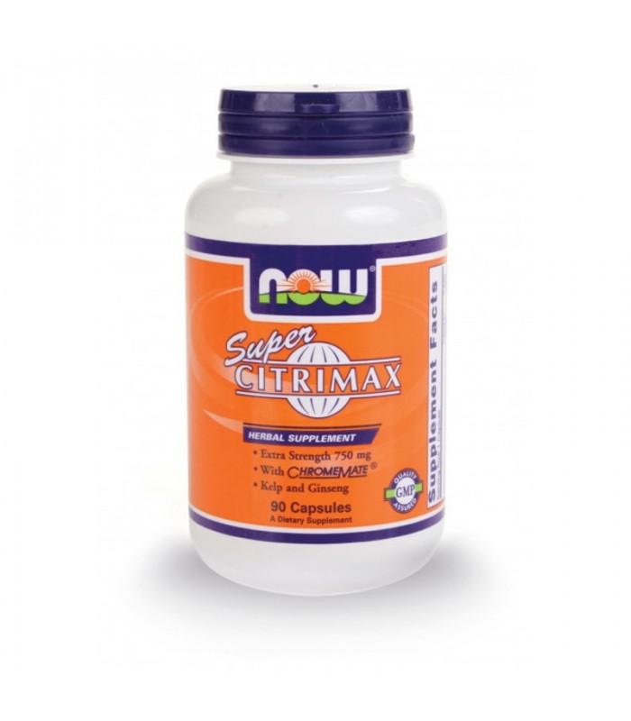 Super Citrimax® Yψηλής Απόδοσης με Χρώμιο 750 mg - 90 Caps®