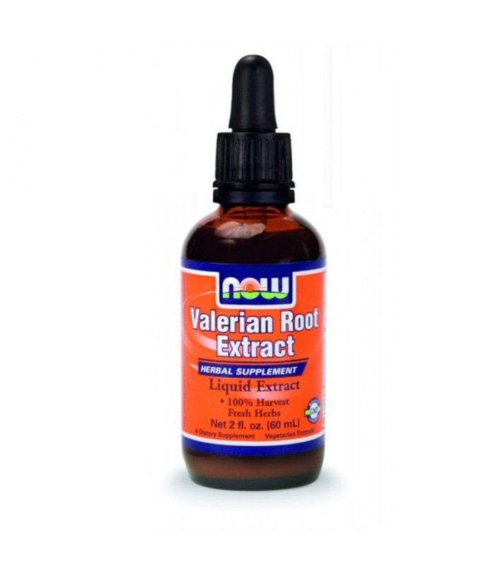 Valerian Root Extract - Vegetarian 2 oz. (59,2 ml), Now