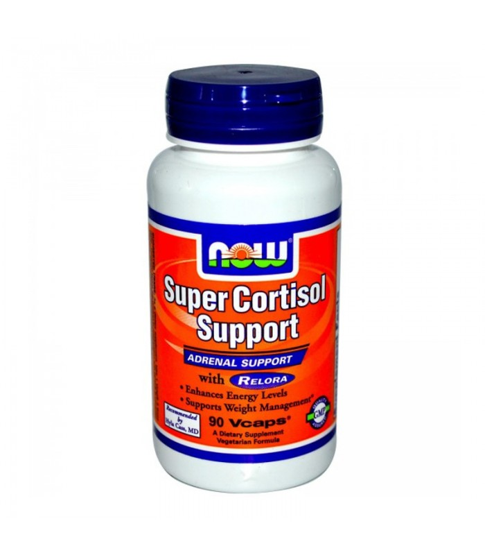 Super Cortisol Support - 90 Caps, Now