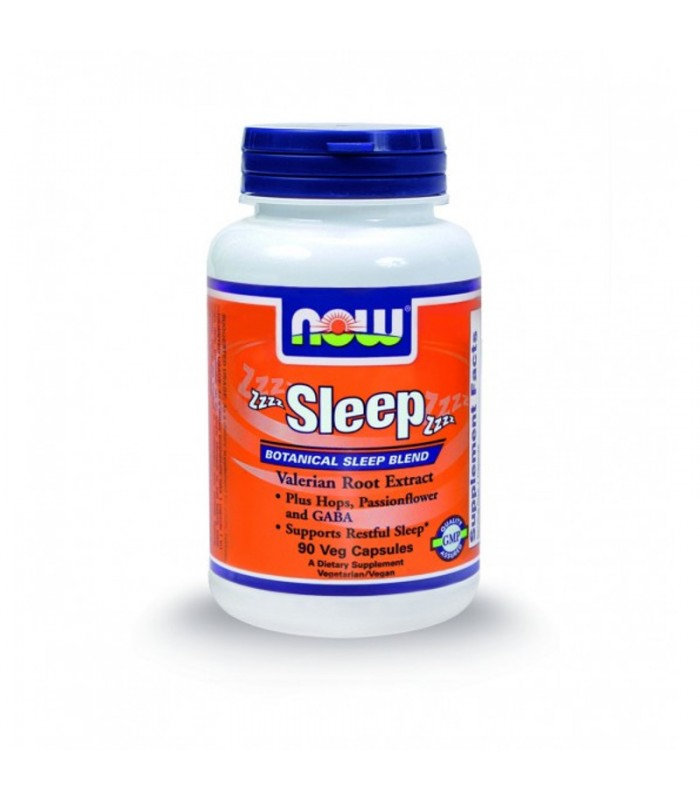 Sleep Formula, w/ Valerian 0,8% - 90 Vcaps, Now