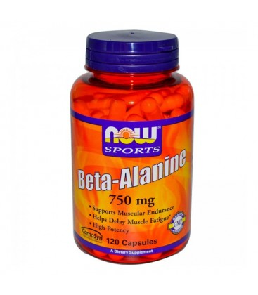 Beta- Alanine 750 mg - 120 Caps