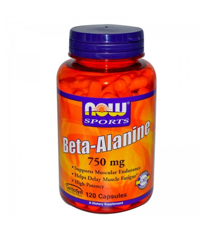 Beta- Alanine 750mg - 120 Caps, Now