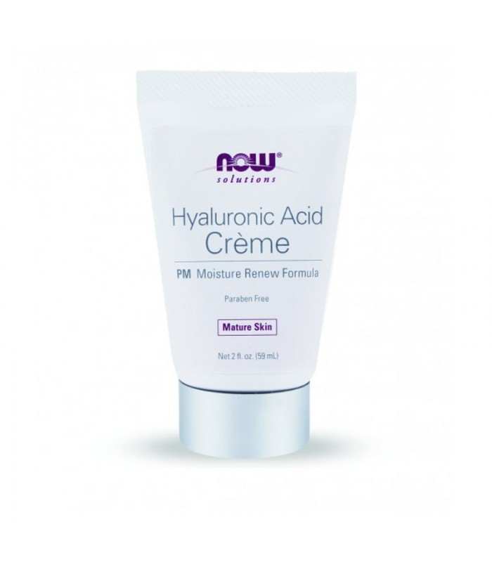 Hyaluronic Acid Creme Night Wrinkle Remedy - 2 fl oz, 59,1ml, Now