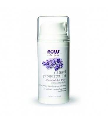 Natural Progesterone Liposomal Skin Cream, Lavender - 3 fl oz (88,7 ml)