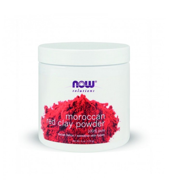 Red Clay Powder Moroccan - 6 oz, 170 gr, Now