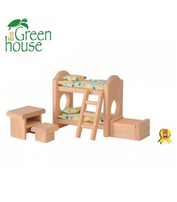 Παιδικό Υπνοδωμάτιο με Κουκέτα - Classic, Plantoys