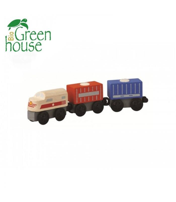 Τρένο - Φορτηγό, Plantoys