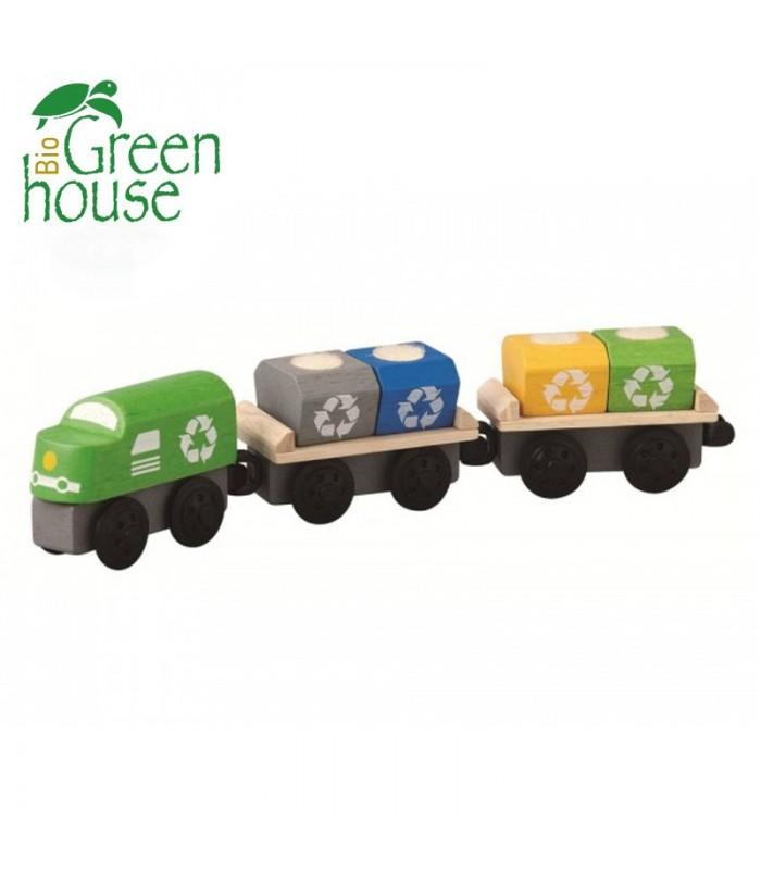 Τρένο Ανακύκλωσης, Plantoys