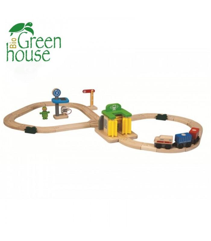 Σιδηρόδρομος - Πλυντήριο Τρένων, Plantoys