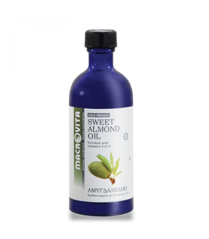 Αμυγδαλέλαιο ( Prunus Amygdalus Dulcis) 100ml Macrovita
