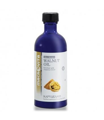 Καρυδέλαιο (Walnut Oil ) 100ml Macrovita