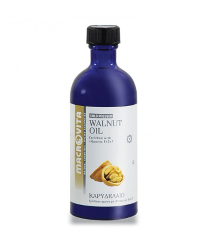 Καρυδέλαιο (Walnut Oil ) 100ml Macrovita