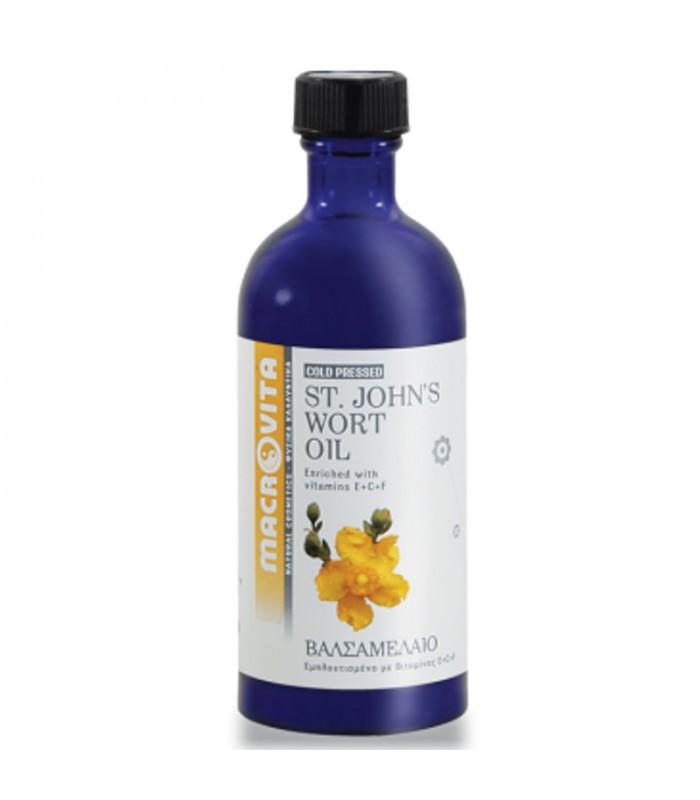 Βαλσαμέλαιο (St. John's Wort Oil) 100ml, Ελληνικό, Macrovita