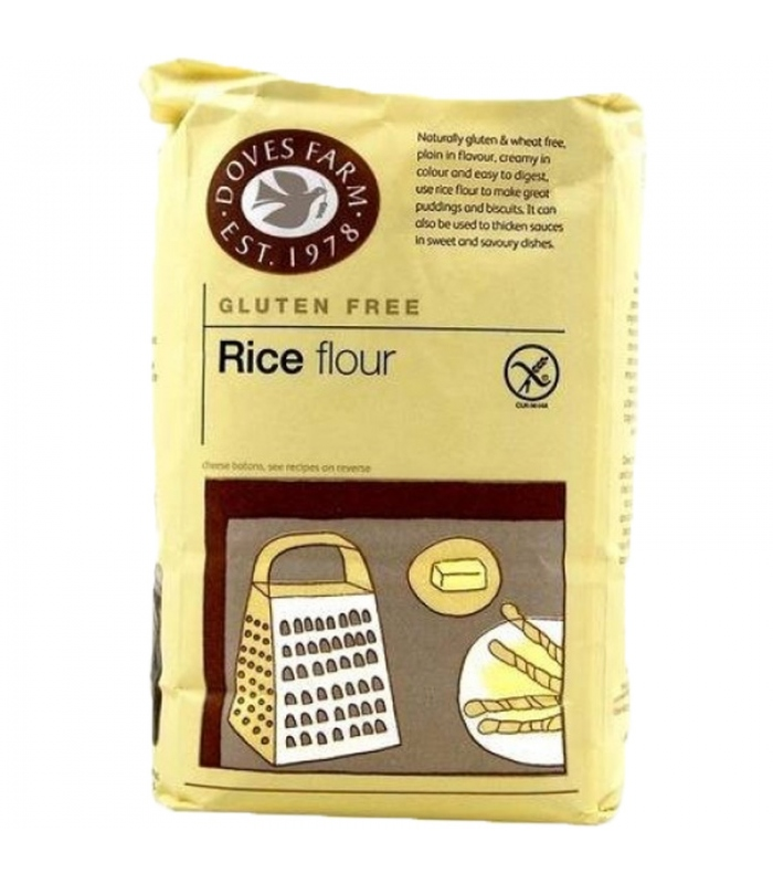 Αλεύρι Ρυζιού Χωρίς Γλουτένη 1 κιλό, Doves Farm