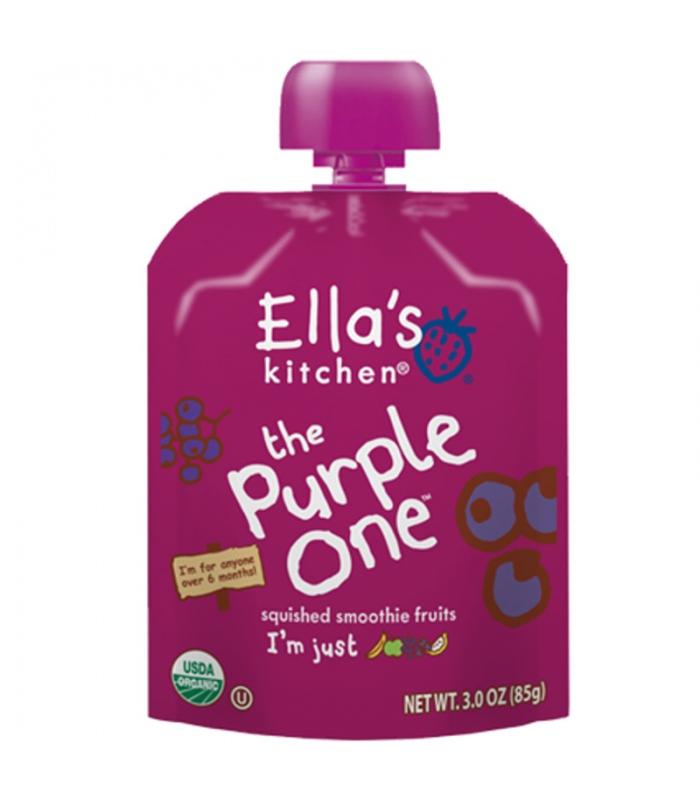 Βιολογικός Πουρές Φρούτων Bio The Purple One 90γρ., Ella's Kitchen