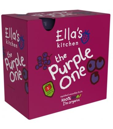 The Purple One - Βιολογικός Πολτός Φρούτων 5 Χ 90γρ