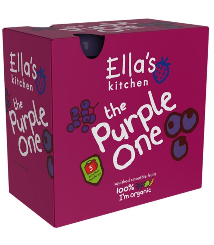 Βιολογικός The Purple One - Πολτός Φρούτων Bio 5x90γρ., Ella's Kitchen
