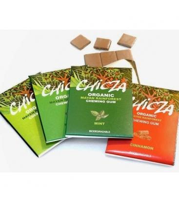 Βιολογική Τσίχλα με γεύση Δυόσμου (Spearmint)30γρ Chicza