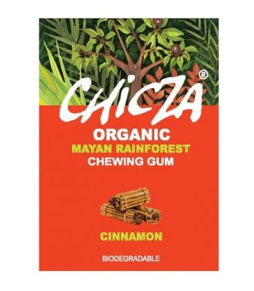 Τσίχλα με Άρωμα Κανέλας Βιολογική 30gr Chicza