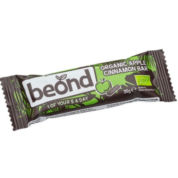Βιολογική Μπάρα Ωμή με Μήλο & Κανέλα Bio 35γρ. Beond, Biokids