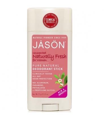 Αποσμητικό στικ για γυναίκες χωρίς άρωμα 70γρ Jason