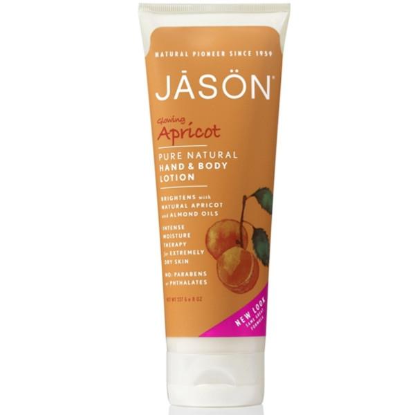 Βιολογική Λοσιόν Σώματος & Χεριών για Ξηρό Δέρμα με Έλαιο Βερύκοκου 230ml, Jason
