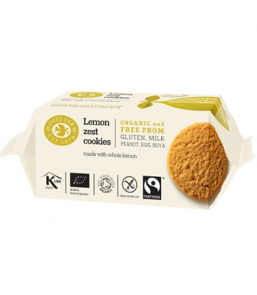 Cookies με Λεμόνι 150γρ Doves Farm